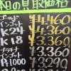 3月16日の金プラチナ買取価格