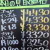 3月25日の金プラチナ買取価格