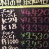 5月11日の金プラチナ買取価格
