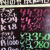 6月9日の金プラチナ買取価格
