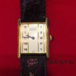 カルティエのヴィンテージ時計をお買取いたしました^^