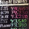 9月29日の金プラチナ買取価格は晴れー!